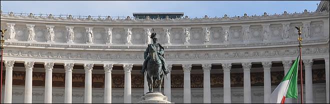 La Piazza Venezia Le Monument A Victor Emmanuel Et La
