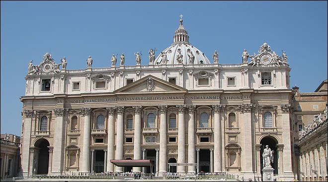 Rome Chrétienne et ses monuments - EUGENE DE LA GOURNERIE - 1867 Basilique-saint-pierre